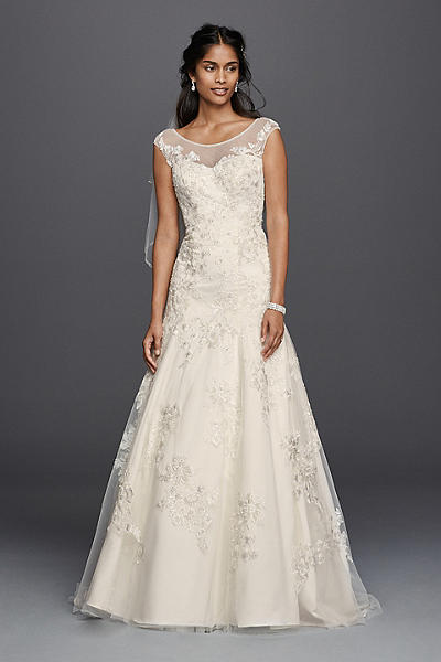 How to choose the perfect wedding dress for your body type for Petite dresses for weddings