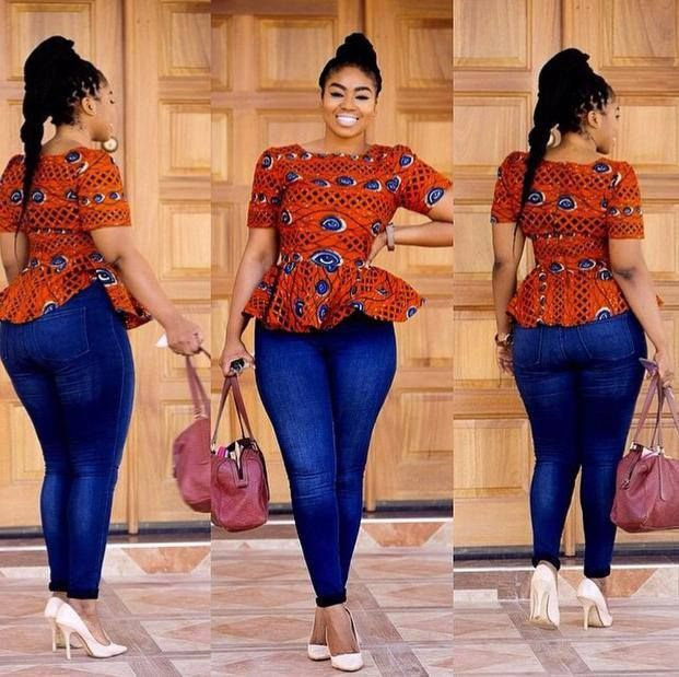 Trending And Chic Style Ankara Peplum Dress To Sew Ifashy