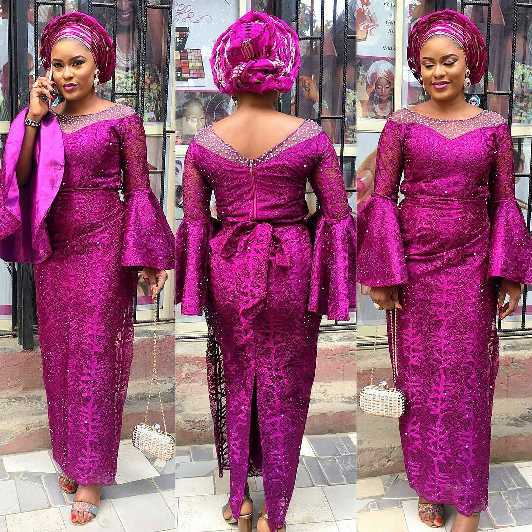 920d96ea9c5c62 20 Amazing Nigerian Traditional Skirt and Blouse Styles. - iFashy