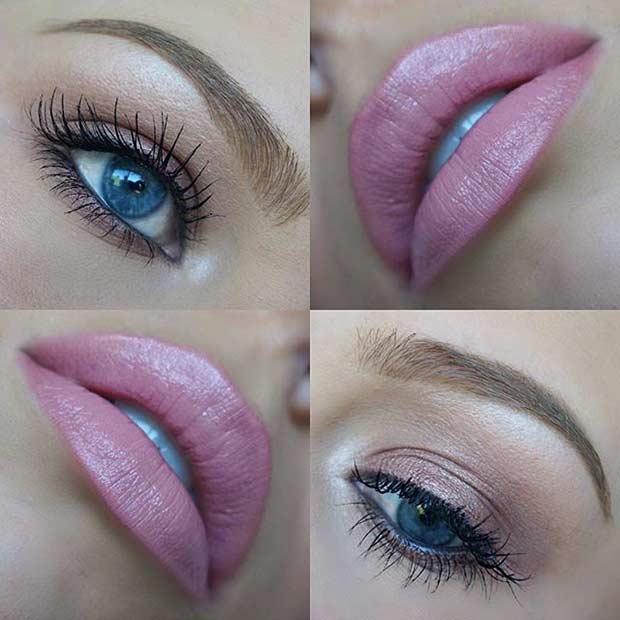 19 Easy Everyday Makeup Looks Ifashy - Everyday-makeup-looks