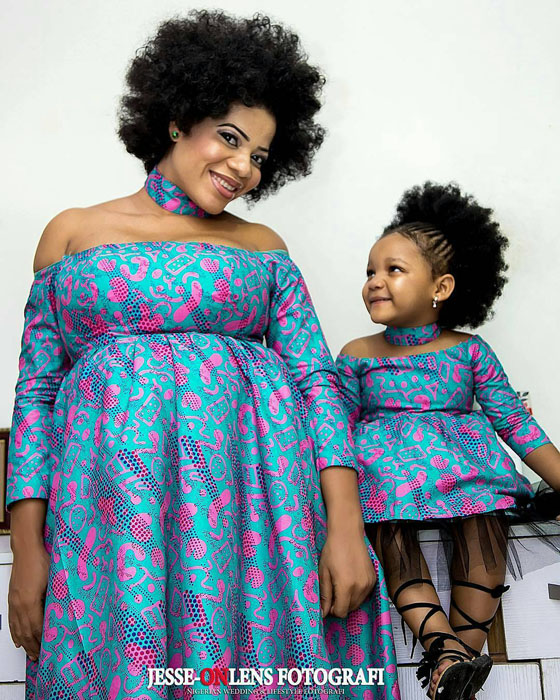 Adorable African Ankara and Kitenge Maternity Gowns ...